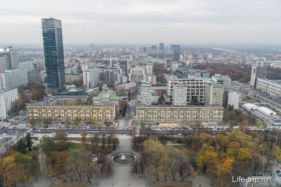 Виды на Варшаву с 30-го этажа