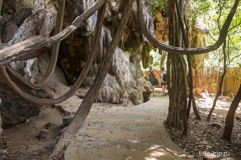 Красивая дорога на пляж Прананг