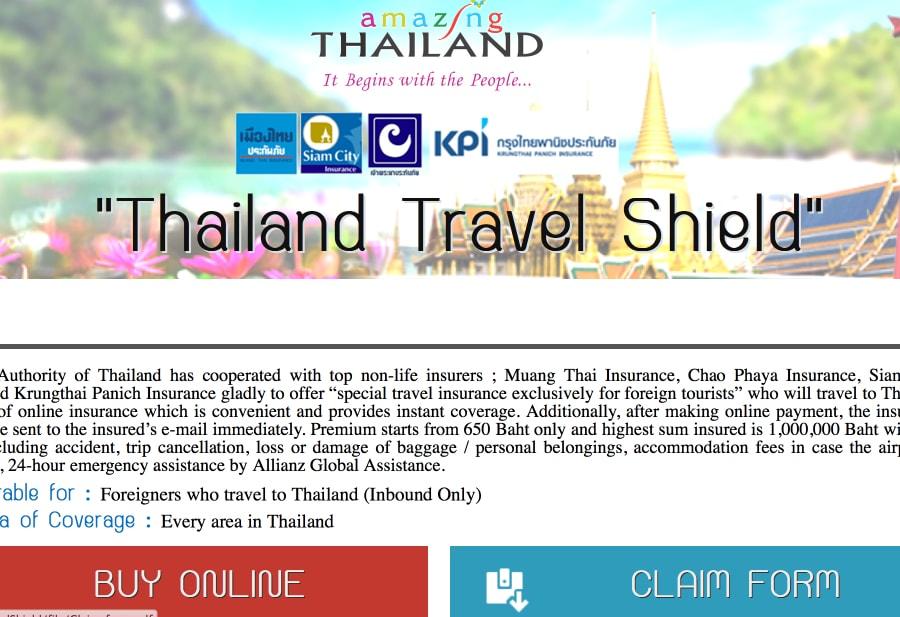 Местная страховка в Таиланде