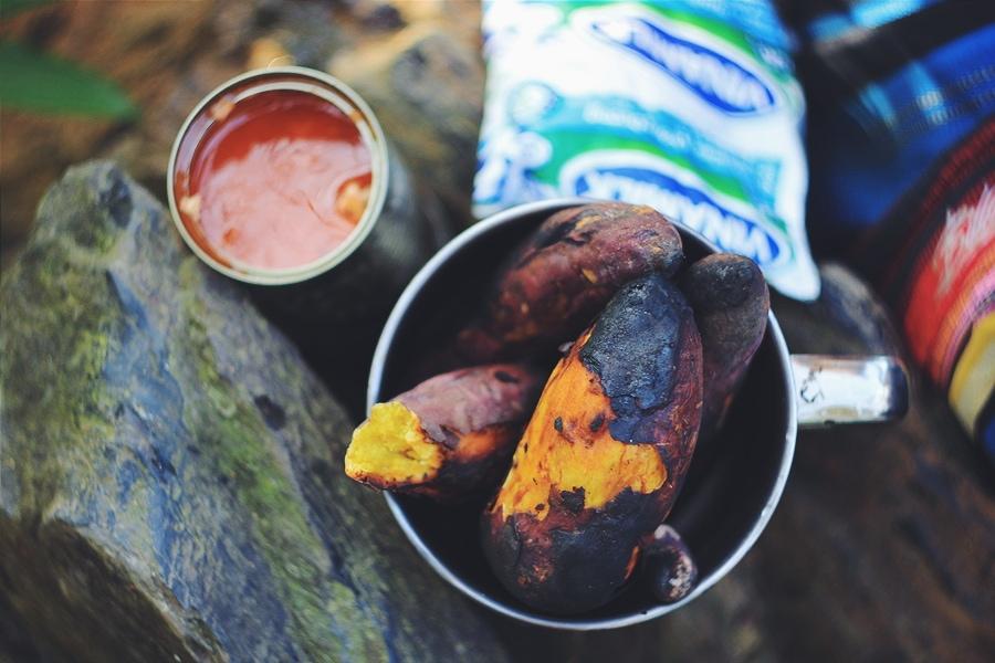 Наш обед в джунглях Вьетнама