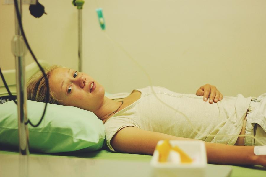 В больничке на Бали, Индонезия