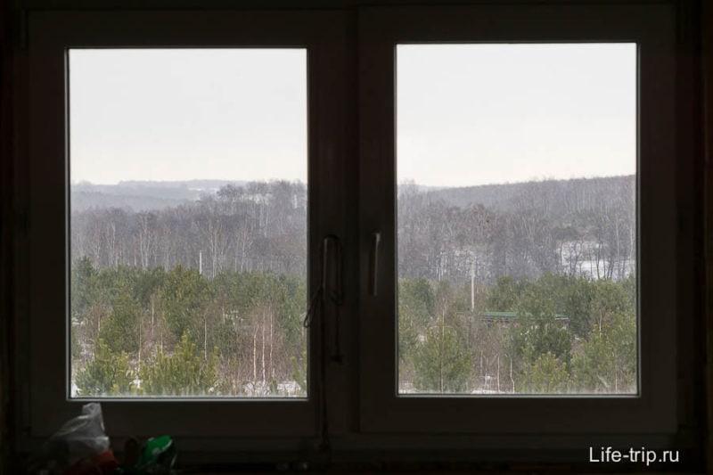 Отличный вид из окна, стимулируют работать или писать мемуары