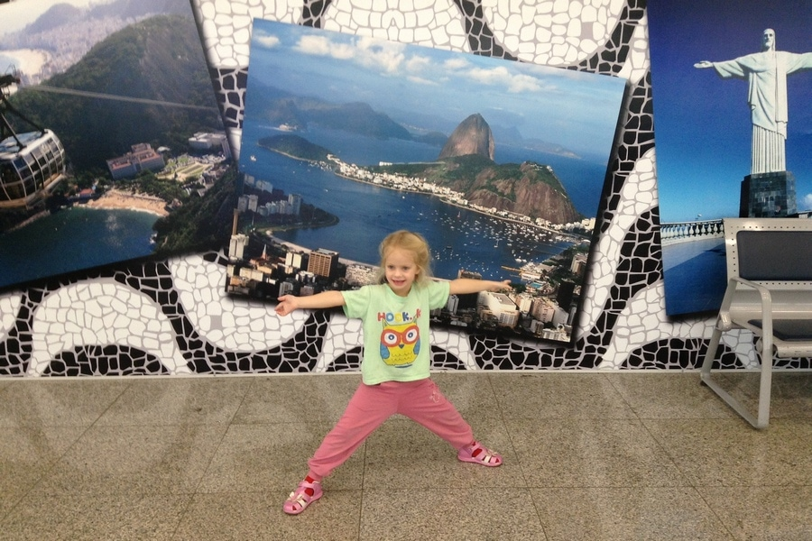Пересадка в аэропорту Рио-де-Жанейро (Бразилия)