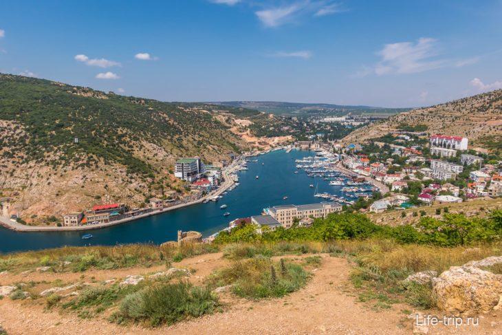 Балаклавская бухта в Крыму