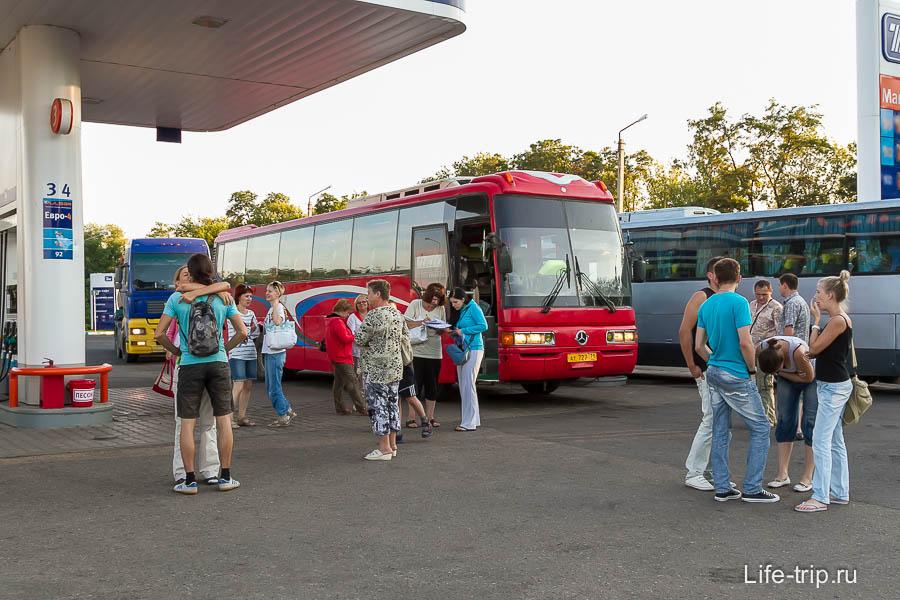 Автобусом Москва - Симферополь