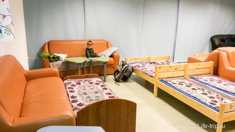 Комната матери и ребенка в Шереметьево