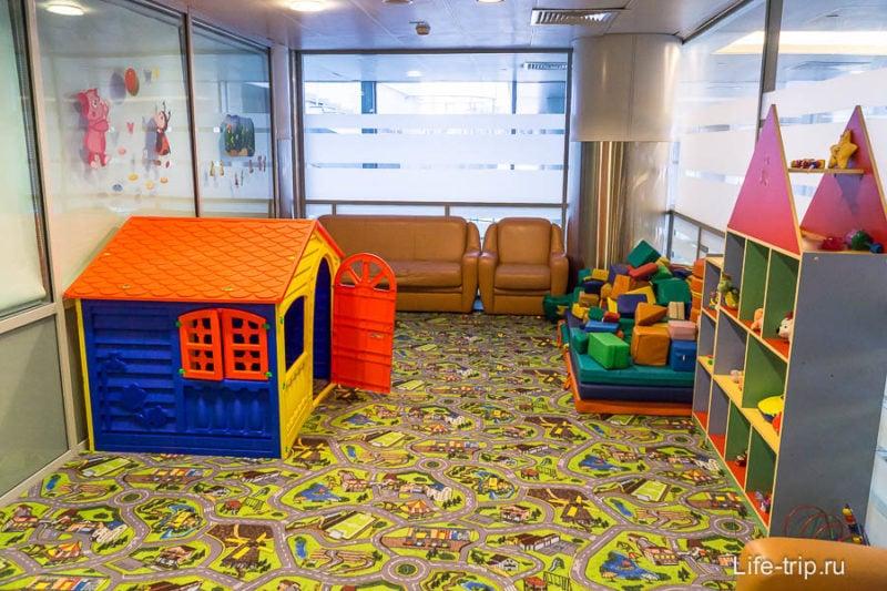Игровая комната в Шереметьево
