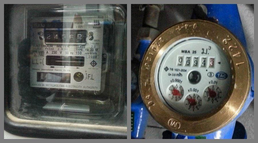 Проверьте счетчики электро и водо