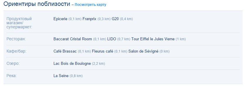 Полезная информация об отеле