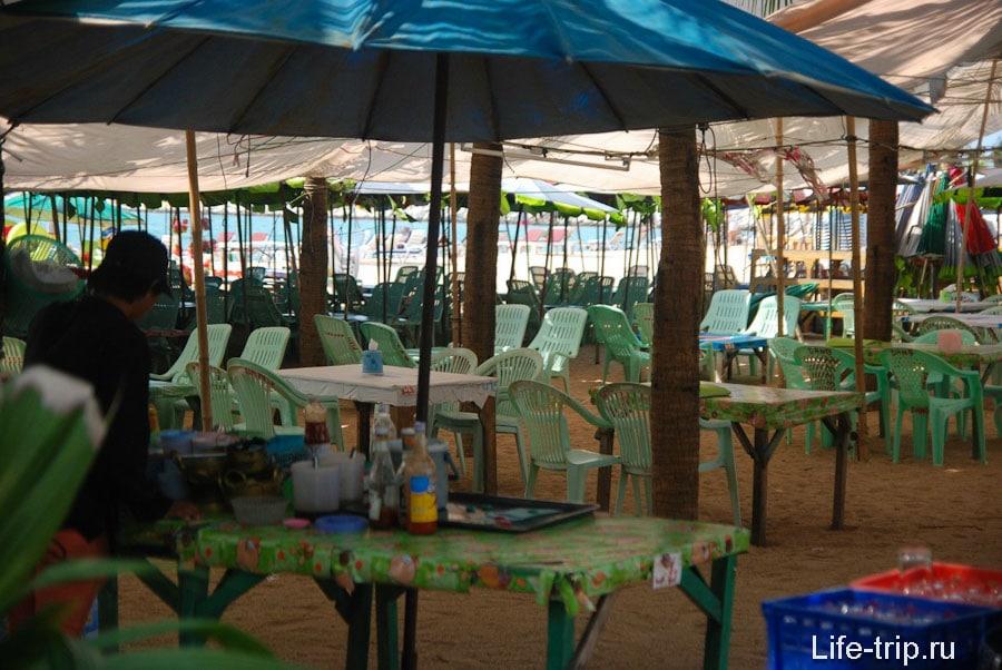 Пляжные кафе