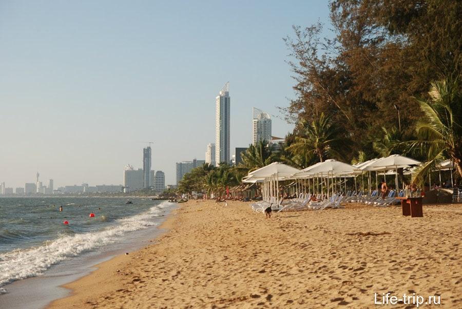 Центр пляжа