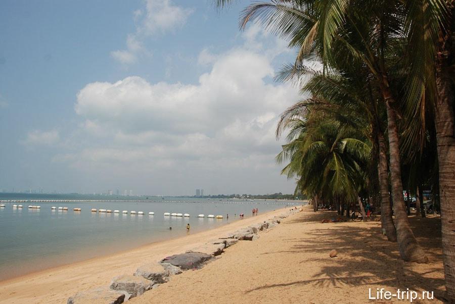 Пляж в Банг Сарай