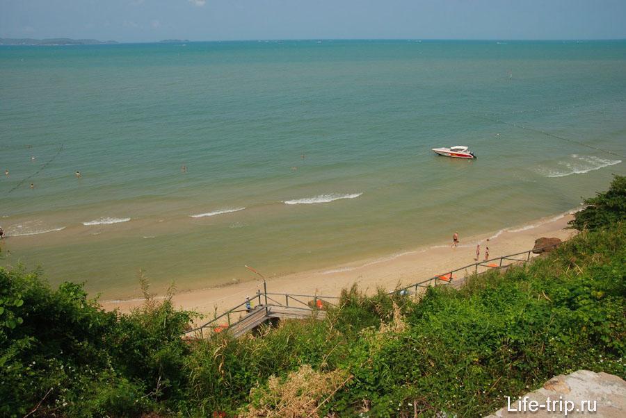 Вид на пляж Кози Бич