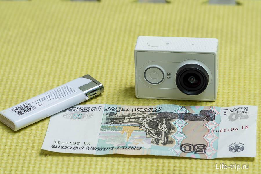 Обзор камеры Xiaomi Yi Action