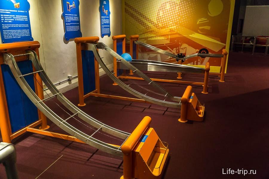 На конкретных предметах можно изучать скорость и ускорение