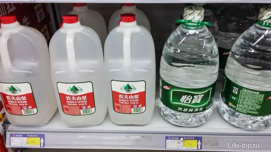 Вода 4.5 литра стоит столько же, сколько несколько 1.5