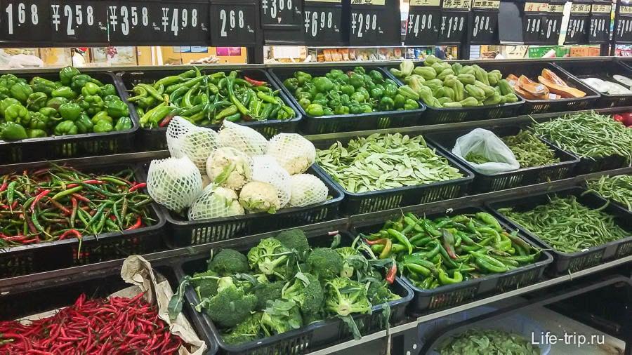 Всяко-разные овощи