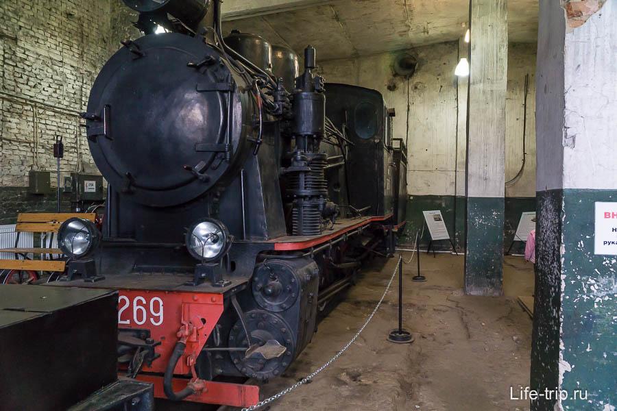 Немецкий паровоз Гр-269 - неудачная модель из-за высокого центра тяжести, раскачивался и разрушал узкоколейку