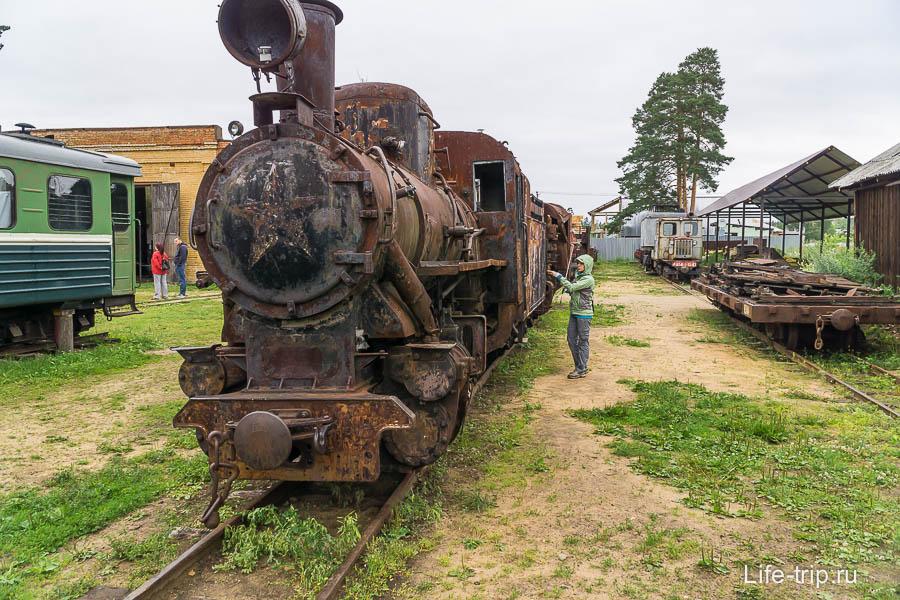 Паровоз 157-567 - самая удачная модель, ожидает реставрации
