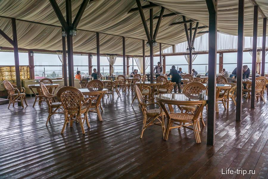 Ресторан Виктория Плаза на крыше