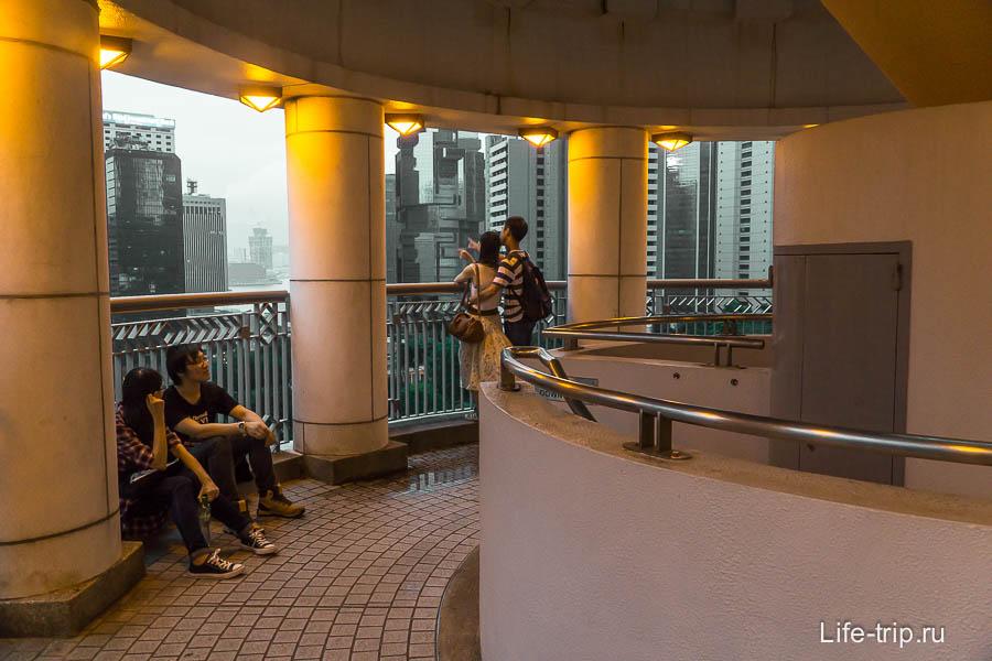 Смотровая площадка парка Гонконг