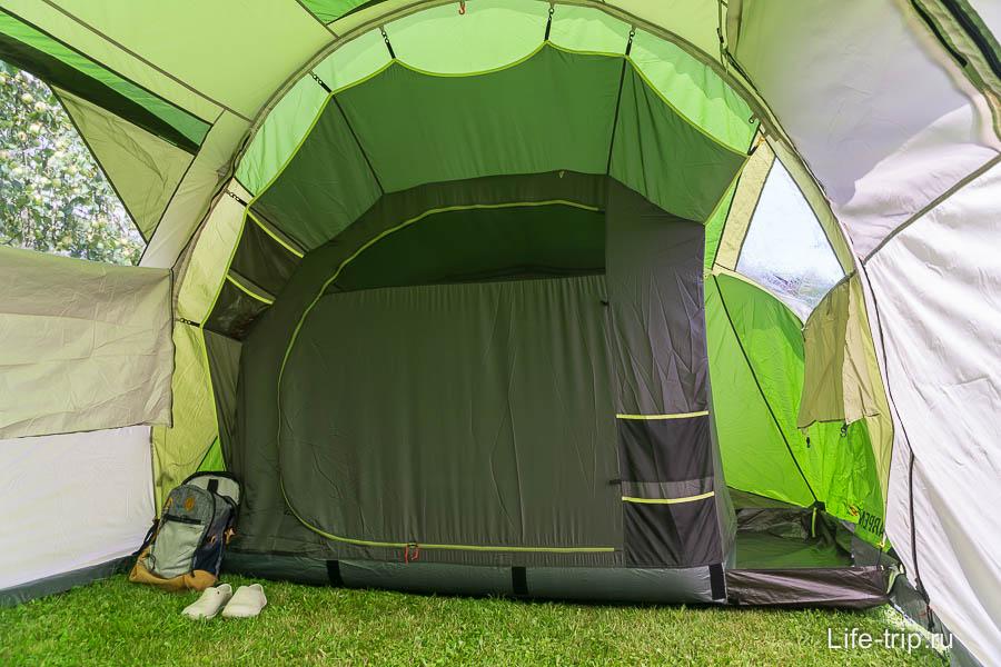 Одно из отделений, внутренняя палатка