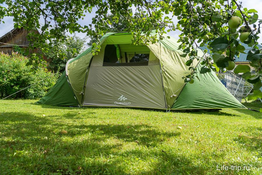Палатка Family 4.2 XL с другой стороны