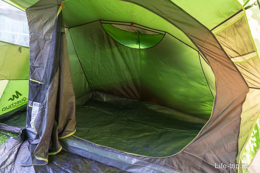 Спальное место 140 см на 210 см.