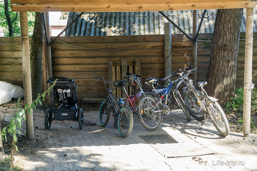 Велосипеды, которые можно брать, и наша новая коляска