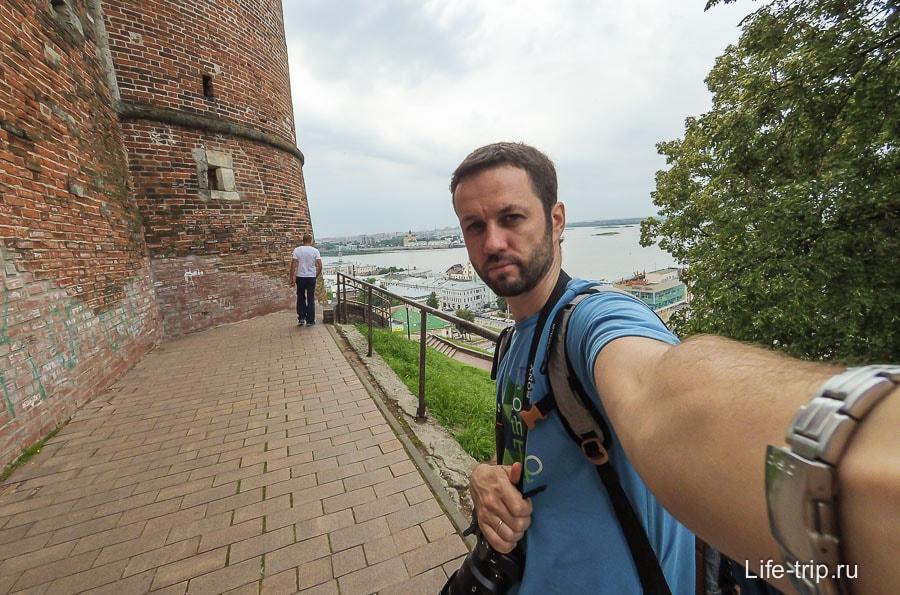 Гуляю по кремлю и Нижнему Новгороду