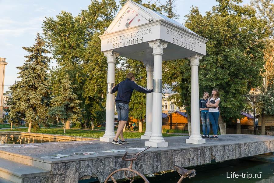 Электрические витамины - одна из достопримечательностей Нижнего Новгорода