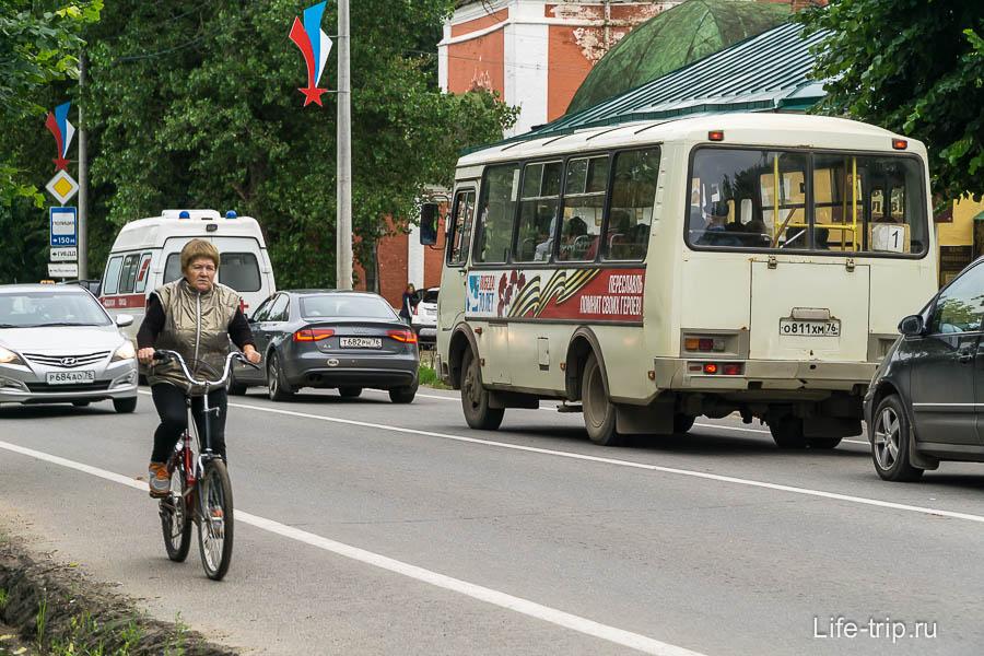 Главная дорога в Переславле-Залесском