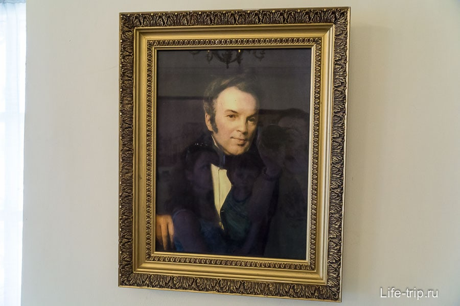 Портрет И.И. Лажечникова