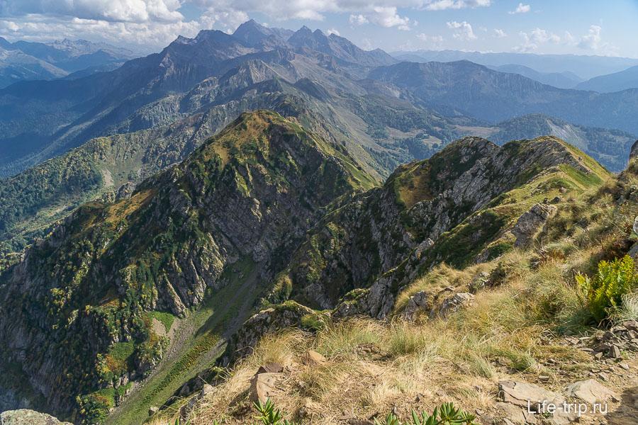 Вид с горы Каменный Столб
