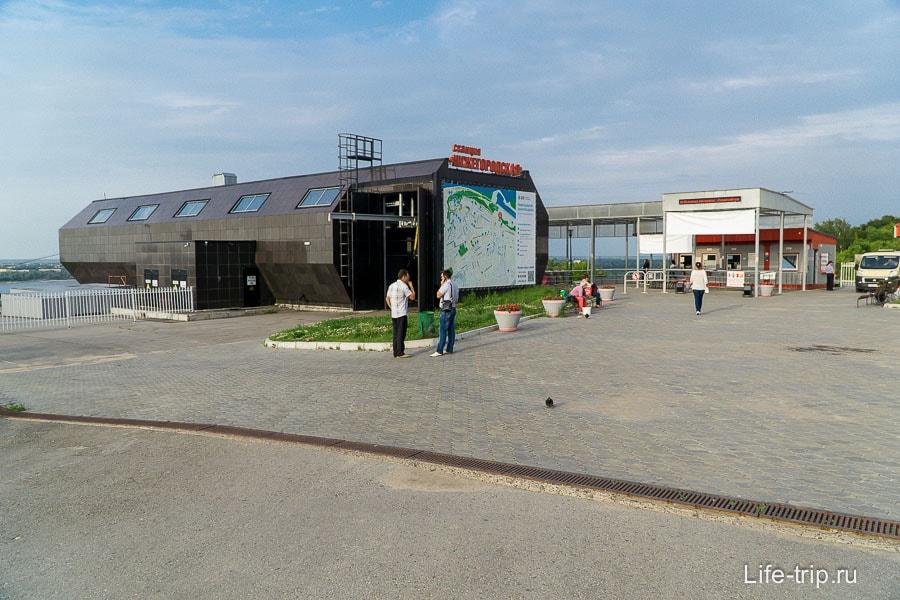 Станция Нижегородская, отсюда старт