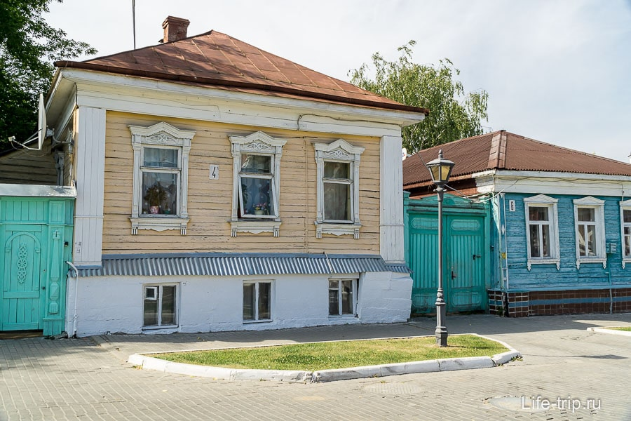Домики на улице Лажечникова