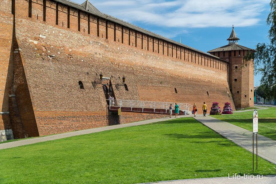 Та самая сохранившаяся стена