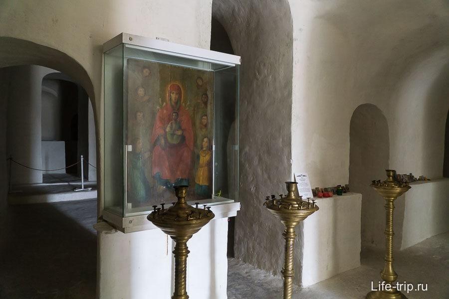 Список Сицилийской иконы Божьей Матери