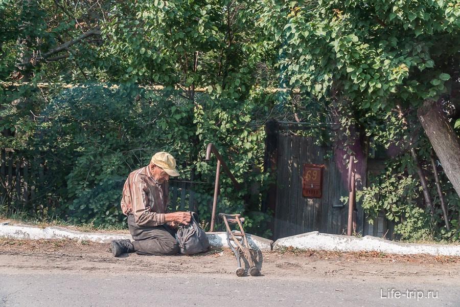 В деревне Дивногорье