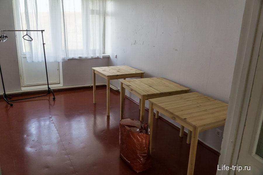 Комната на 3-х человек
