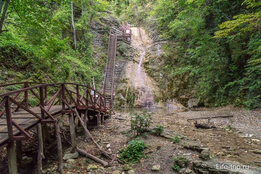 Гебиусские водопады - самый первый