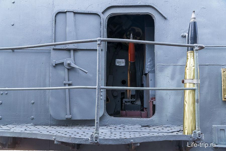Установка СМ-5-1С, калибр 100 мм