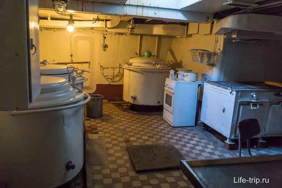 Камбуз, кухня