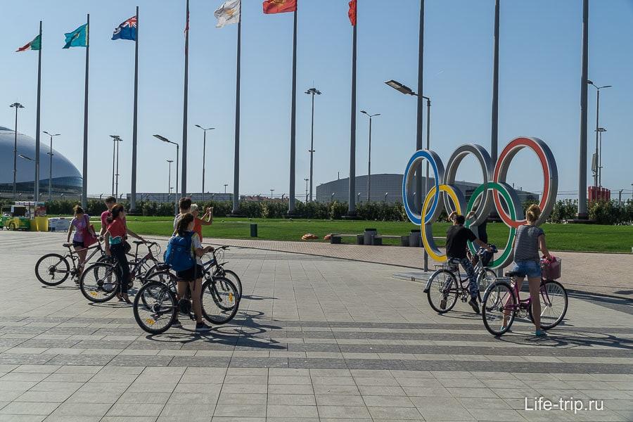 Отличное место для велосипедистов и роллеров