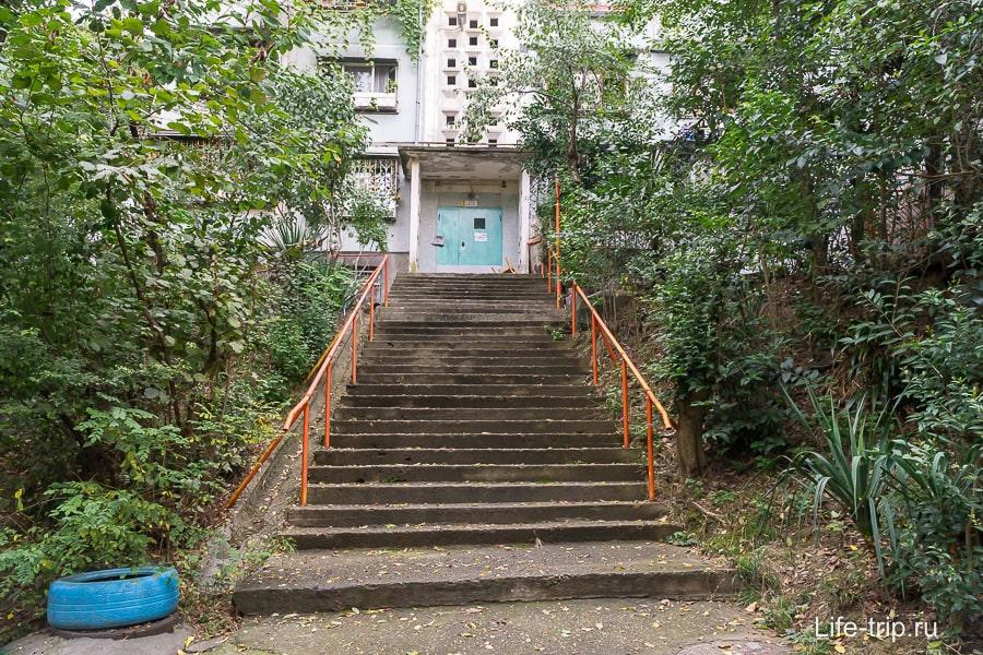 Район Макаренко (не центр) - и как сюда забраться даже с детской коляской?