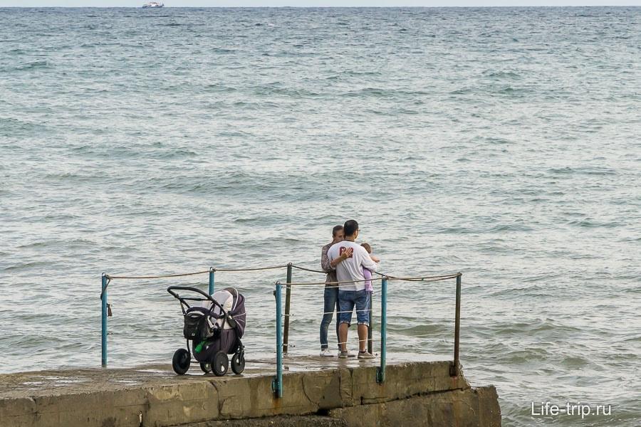 Или на море, кому что ближе