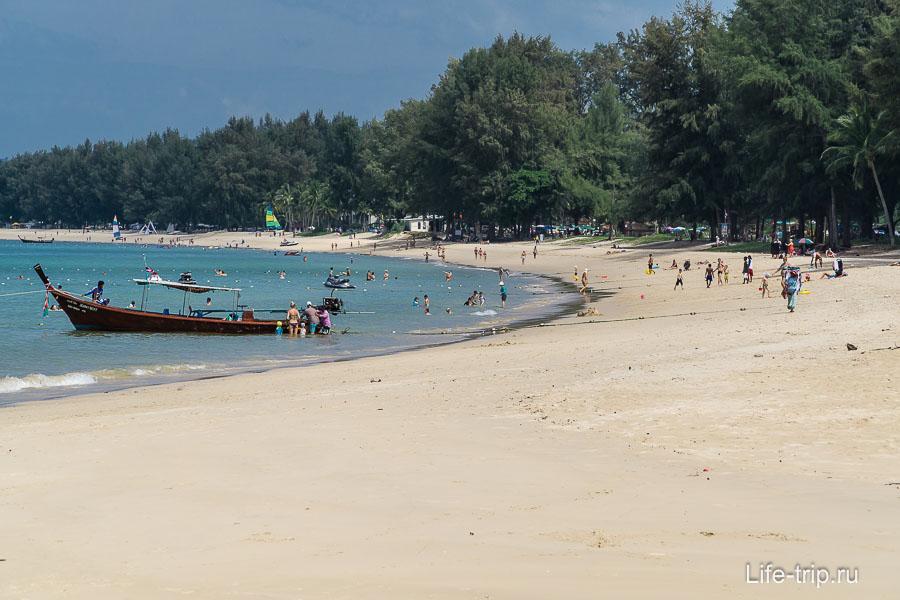 Наш пляж Банг Тао