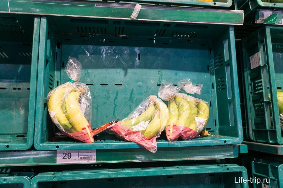 Бананы 29 бат за связку