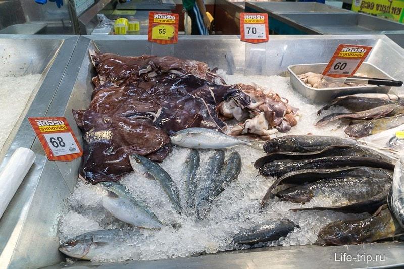 Морепродукты за 1 кг