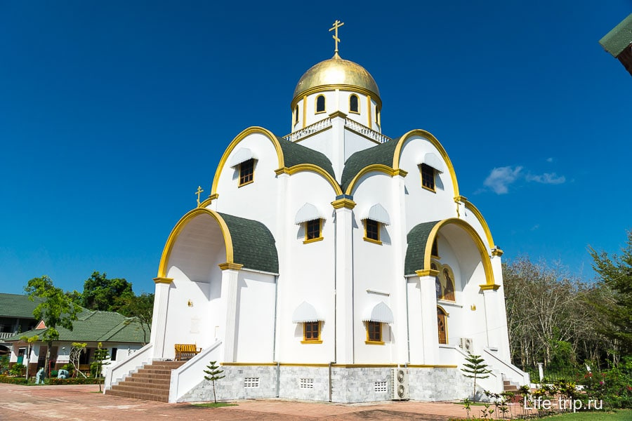 Русский православный храм на Пхукете